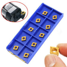 10x ccmt060204-hm YBC251 inserti per tornitura Scatola acciaio CNC tornio