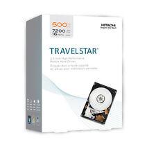 """Hgst Travelstar 2.5"""" Internal Hard Drive 500GB 7200RM SATA/300 HD  New Retail"""