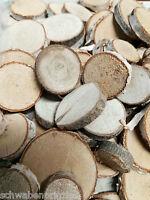 100 x Birkenscheiben Holzscheiben Basteln 1-4cm Streuteile Tischdekoration Holz