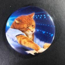 """Keyboard Cat 2.25"""" Button Pin Kitten Cute Piano"""