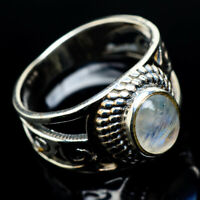 Rainbow Moonstone 925 Sterling Silver Ring Size 6.5 Ana Co Jewelry R23933F