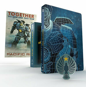 PACIFIC RIM 4K STEELBOOK (2 BLU-RAY 4K UHD + Blu-Ray Disc) TITANS OF CULT