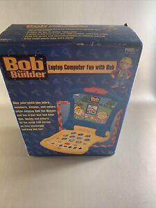 Bob The Builder Laptop Computer Fun With Bob - Teach & Quiz Modes New/Sealed Box