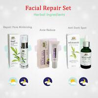 Abhai Herb Facial Repair Set Reduce Acne Anti Dark Spot Repair Pore Minimizing