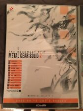 Rare Metal Gear Solid 2 Document B2 Poster