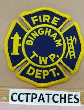 BINGHAM TOWNSHIP, UNKNOWN FIRE DEPARTMENT PATCH