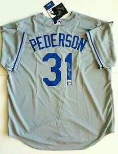 Joc Pederson LA Dodgers Autographed Gray Replica Jersey - MLB Authenticated