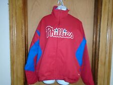 Philadelphia Phillies Women's Majestic Therma Base Authentic Jacket Large NWT