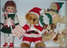 "Madame Alexander Four For The Holidays 8"" Doll Chaos Danger Mischief 46210 RARE"