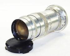 JUPITER 11 4/135mm Russian Lens fit KIEV Contax I II III RF GOOD cond 1961 Red P