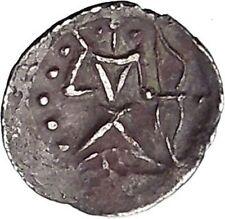 Possibly Unpub Sogdiana Kingdom Ancient 4thCenAD Ancient Greek Style Coin i45612