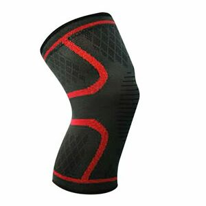Knee Compression Sleeve Support for Running Gym Sports Elastic Brace Wrap Pad