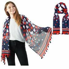 Stola Long Neck Wrap Printed Mode Damen Schals-leichte Tüchern für Frauen