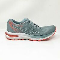 Asics Womens Gel Cumulus 22 1012A741 Piedmont Gray Running Shoes Lace Up Sz 8.5