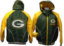 New Green Bay Packers Mens Sizes M-XL NFL Thick Winter Coat