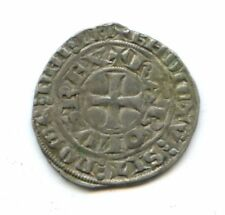 FRANCE CHARLES IV (1322-1328) MAILLE BLANCHE 2e ÉMISSION DUPLESSY 243 A