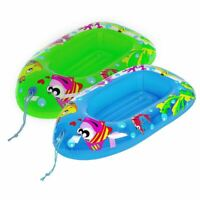 Jilong Child Kids Inflatable Pool Dingy Boat Toy Blow Up Float Sea Beach Lounger