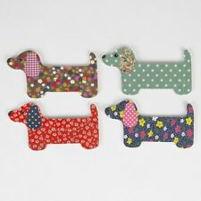 Dachshund Sausage Dog Weiner Dog Set of 4 Nail Files Emery Boards BN