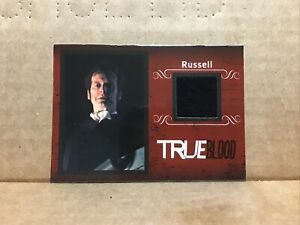 2013 True Blood Archives Costumes #C9 Russell Edgington jacket Relic /299