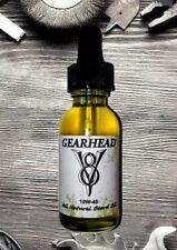 Beard Oil - Organic Mustache and Dry Skin Grooming Balm Hair Care - GEARHEAD