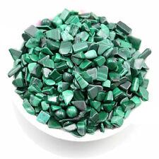 100g Natural Polished Green Malachite Gem Stone Original Rock Chips