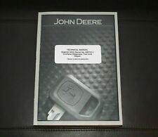 John Deere 9550 Combine Diagnosis Test Repair Service Manual Tm2031