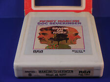 Mancini / Severinson 8 Track Tape RCA Brass on Ivory Misty Poor Butterfly