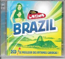 2 CD COMPIL 37 TITRES--BRAZIL / RYTHMES CARIOCAS--DE BAHIA/GILBERTO/FERRARI/T-RI