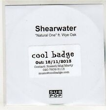 (EP209) Shearwater, Natural One ft Wye Oak - 2013 DJ CD
