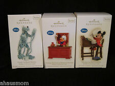 HALLMARK 2009 - 2011 KEEPSAKE ORNAMENT DISNEY MICKEY'S CHRISTMAS CAROL # 1 2 3