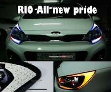 (Fits: KIA 12+ Rio All new pride)2way LED Front Headlight Side Reflector Module