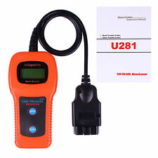 U281 Code Reader Airbag Engine Reset OBD2 CAN BUS Scanner VW for AUDI SEAT ABS