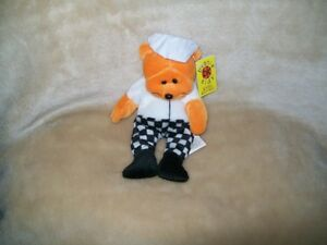 Beanie Kids  PIERRE THE CHEF NMT BK 151 Rare Premier Exclusive Retired