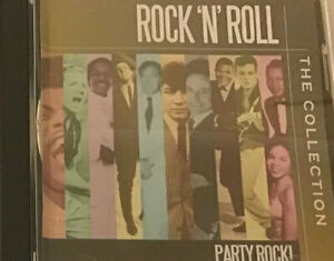 Rock & Roll, Party Rock, The Collection Cd, Free Priority Post! Incl Chuck Berry