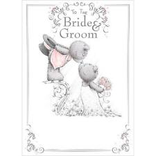 ME TO YOU TO THE BRIDE AND GROOM WEDDING CARD TATTY TEDDY BEAR NEW GIFT