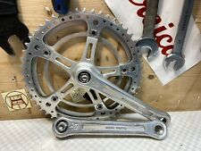 SUGINO SUPER MIGHTY CRANKSET 170mm 52/48 Kurbelgarnitur vintage eroica