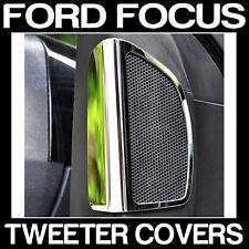 Ford Focus MK 3 Mark III CHROME TWEETER COVER TRIM Custom Mod
