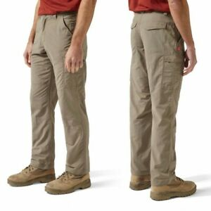 CRAGHOPPERS PEBBLE MENS NOSILIFE CARGO TROUSER CMJ367 WALKING OUTDOOR PANT
