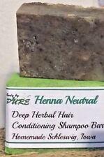 Handmade Natural Organic Herbal Hair  Conditioning Shampoo Bar,