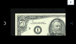 MINNEAPOLIS  $50 1985 Fr. 2122-I $50 1985 Federal Reserve Note. CHOICE CU