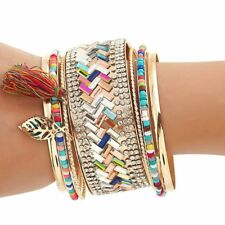 Women Ethnic Fashion New Bracelet Jewelry Bangles Crystal