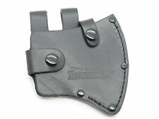 TIMBERLINE 6013 AXE HATCHET CAMPING BLACK LEATHER FIXED BLADE KNIFE SHEATH (173A