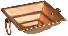 """New listing Pure Copper Small Size Havan Kund for Home (Width- Uppe - 5.5""""/ Bottom- 2"""") Puja"""