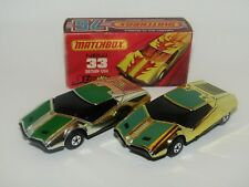 Matchbox Superfast No 33 Datsun 126X Streakers SILVER PLATED GOLDEN X MEGA RARE