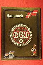 Panini EURO 88 N. 104 DENMARK BADGE WITH BINGOL BACK V GOOD / MINT CONDITION!!!