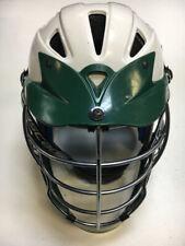 Cascade Cpx White/Green Used Lacrosse Helmet