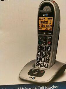 BT4000 Big Button Single Digital Cordless Phone with Nuisance Call Blocker