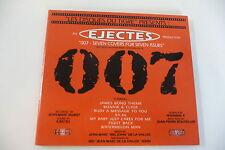 EJECTES CD JAMES BOND 007 SEVEN COVERS FOR SEVEN ISSUES. JAMES BOND