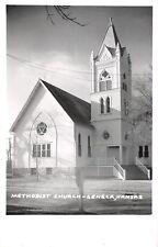 Seneca Kansas~Methodist Church~1950s Real Photo Postcard~RPPC