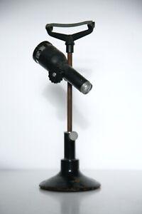 Rare Original Industrial Vintage 1950s Science Laboratory Lamp Light Steampunk